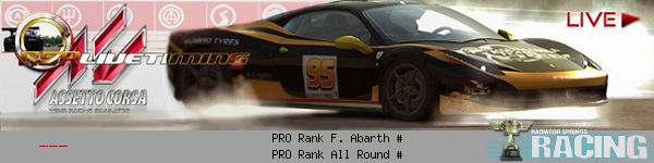 assetto - new PC title in development at Kunos Simulazioni: Assetto Corsa - Page 30 Signature